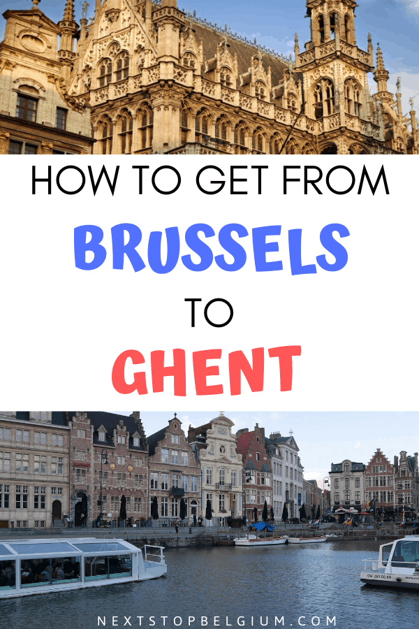 how to get from brussels to ghent and vice versa (pinterest image)