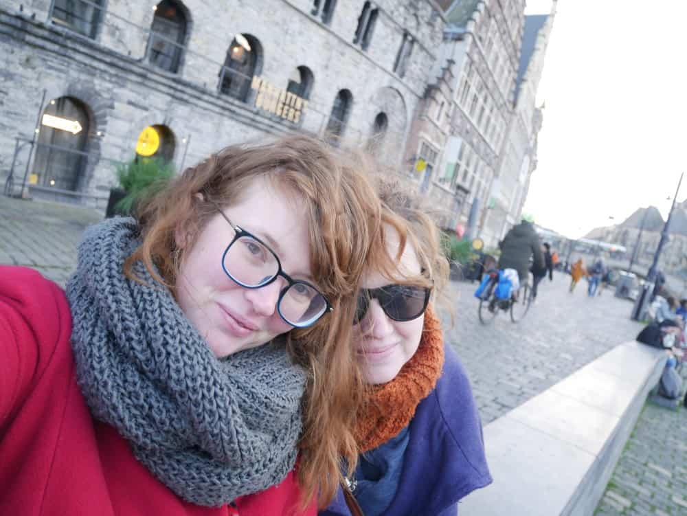 selfie for the romantic weekend in ghent article